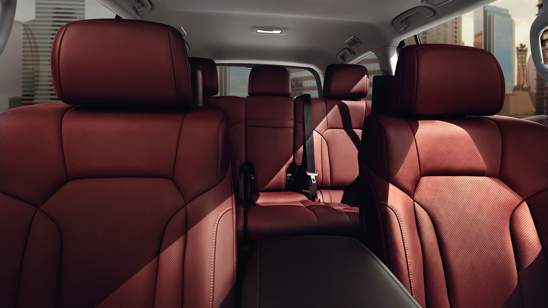 2017 lexus lx features luxurious cabin